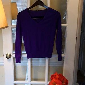 100% Merino wool Amazing beautiful Purple sweater